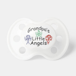 Grandpas Little Angels Baby Pacifier