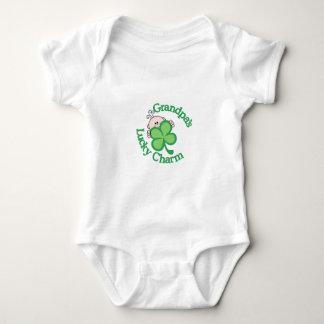 Grandpa's Lucky Charm Baby Bodysuit