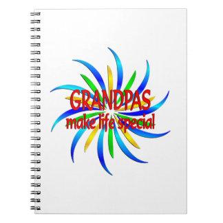 Grandpas Make Life Special Notebook