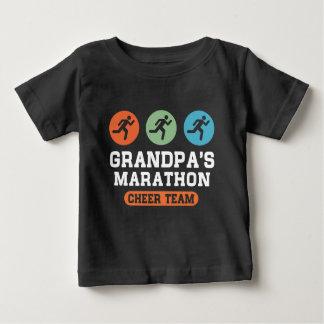 Grandpa's Marathon Cheer Team Baby T-Shirt