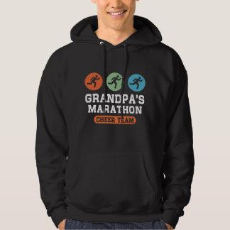Grandpa's Marathon Cheer Team Hoodie