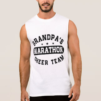 Grandpa's Marathon Cheer Team Sleeveless Shirt