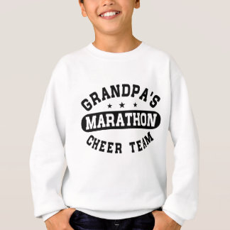 Grandpa's Marathon Cheer Team Sweatshirt