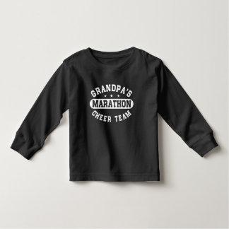 Grandpa's Marathon Cherr Team Toddler T-shirt