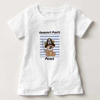 Grandpa's Pirate Prince Baby Romper