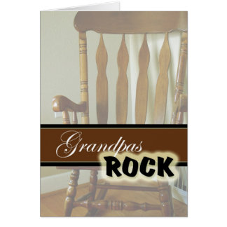 Grandpas Rock-Happy Grandparents Day Card