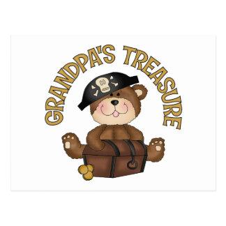 Grandpa's Treasure Postcard