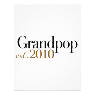 Grandpop Est 2010 Custom Flyer
