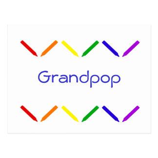 Grandpop Postcard