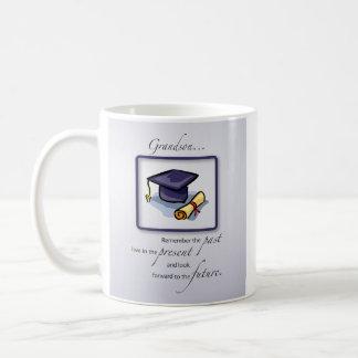 Grandson Graduation Congratulations Remember Past Coffee Mug