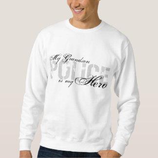 Grandson Is My Hero - POLICE Sweatshirt