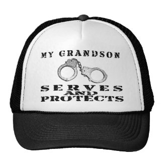 Grandson Serves Protects - Hat