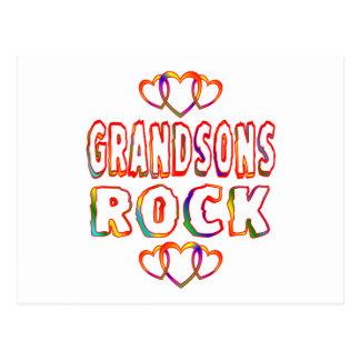 Grandsons Rock Postcard