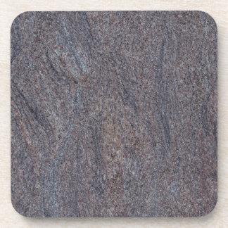 GRANITE BLUE-BROWN BEVERAGE COASTERS