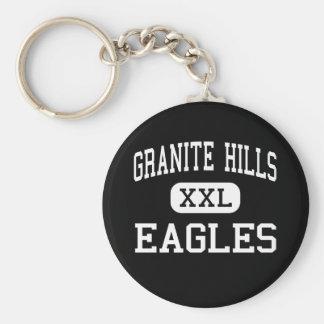 Granite Hills - Eagles - High - El Cajon Basic Round Button Keychain