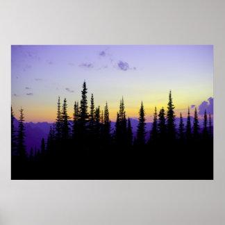 Granite Park Sunset Poster