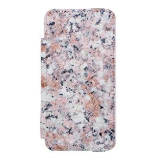 Granite pattern incipio watson™ iPhone 5 wallet case