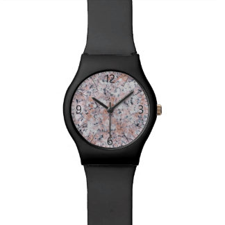 Granite pattern watch