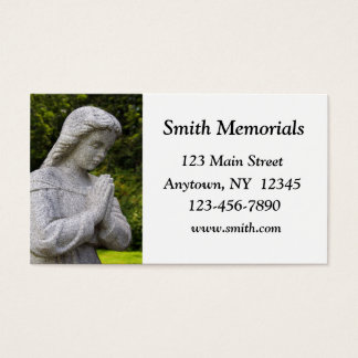 Granite Statue Business Card