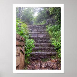 Granite Steps Poster