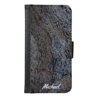 Granite stone red black texture
