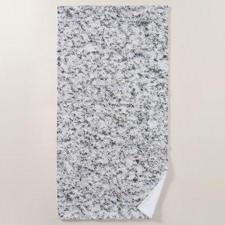 Granite surface pattern beach towel