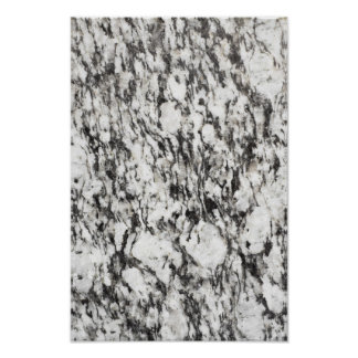 Granite texture | Background of marble in black Poster