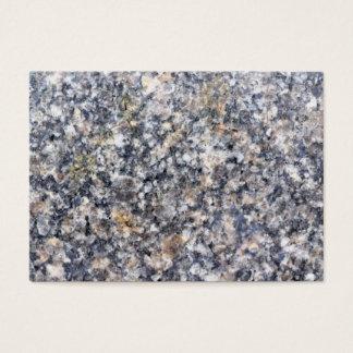 Granite texture business card