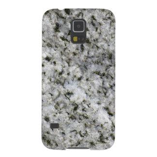 Granite White Rock Galaxy S5 Cases