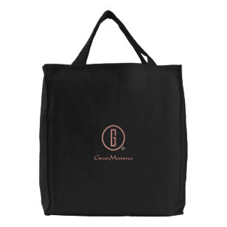 GranMomma s Embroidered Tote Bags
