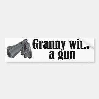 Grannies With Guns Bumper Sticker