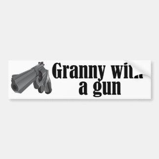 Grannies With Guns Bumper Sticker