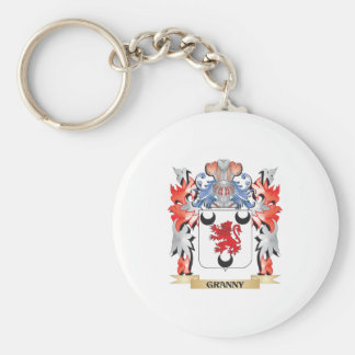 Granny Coat of Arms - Family Crest Keychain