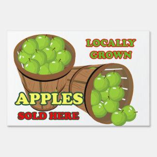 Granny Smith Apple Baskets Farm Stand Lg Yard Sign