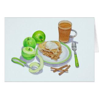 Granny Smith Apple Pie Card