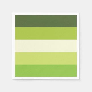 Granny Smith — Stripes Disposable Napkin