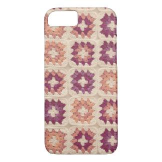 Granny Square Crochet iPhone Case