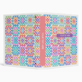 Knitting Pattern Binder : Knitting Binders, Custom Knitting Binder Designs, 3 Ring Binders