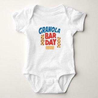 Granola Bar Day - Appreciation Day Baby Bodysuit