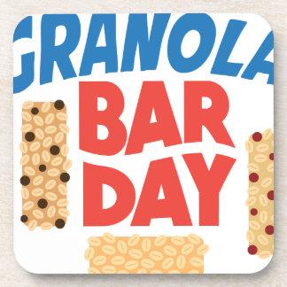 Granola Bar Day - Appreciation Day Beverage Coaster
