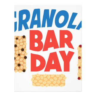 Granola Bar Day - Appreciation Day Customized Letterhead