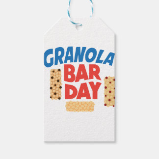 Granola Bar Day - Appreciation Day Gift Tags