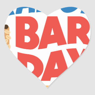 Granola Bar Day - Appreciation Day Heart Sticker