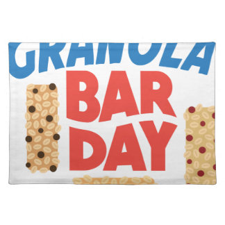 Granola Bar Day - Appreciation Day Placemat