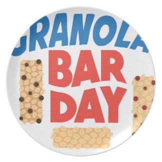 Granola Bar Day - Appreciation Day Plate