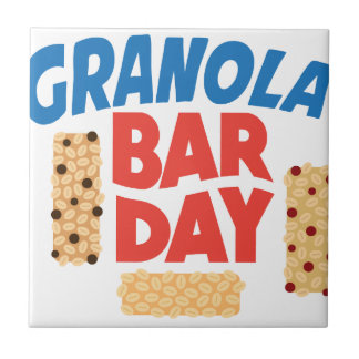 Granola Bar Day - Appreciation Day Tile