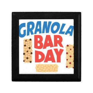 Granola Bar Day - Appreciation Day Trinket Box