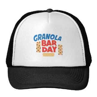 Granola Bar Day - Appreciation Day Trucker Hat