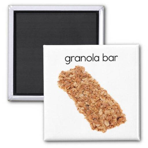 Granola Bar Refrigerator Magnet