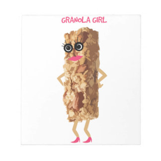 Granola Girl Notepad